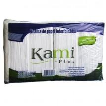 Papel Toalha 100% Celulose c/1000 fls Kami