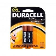Pilha alcalina AA c/2 Duracell